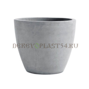 Кашпо Бетон Плантер ХL, Beton planter round ХL 53см